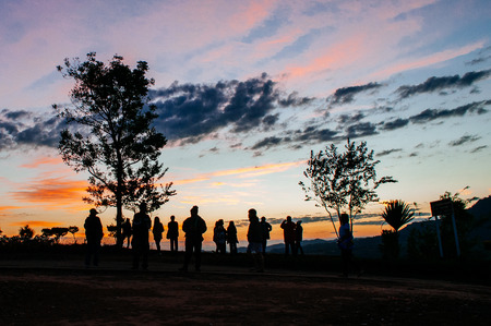 ngo: Morning light landscape, khao takhian ngo