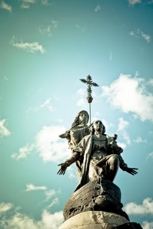 Christopher Columbus monument, Valladolid, Spain