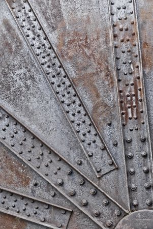Background of the oxidized and rusty machine photo