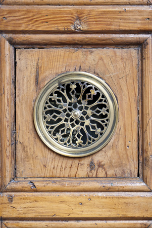 peephole: door peephole Stock Photo