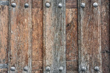 rivets: old wood with rivets