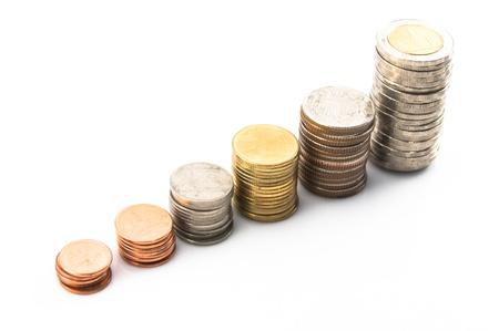Thai coin stair photo