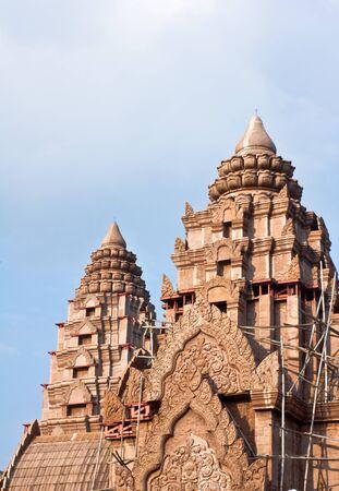 Castle Rock building in Thailand photo