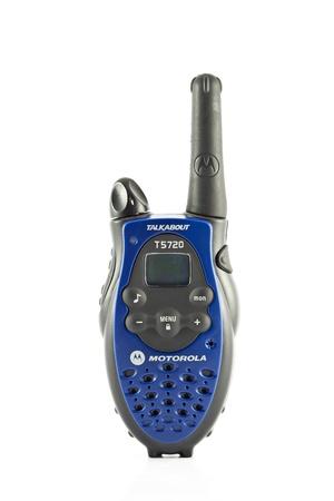 radio communication on white background Stock Photo - 10169847