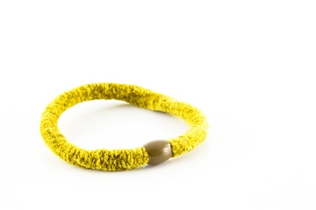 elastic band: elastic band isolated on white background