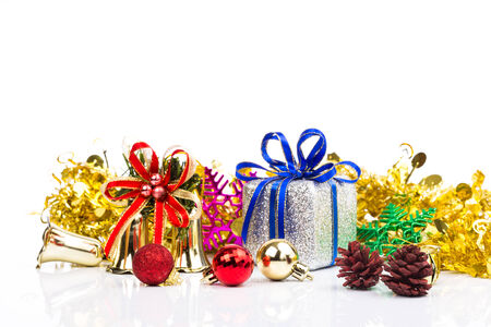 christmas decorations background photo
