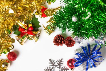 christmas decorations background photo