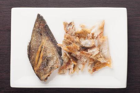 gourami: fried snakeskin gourami