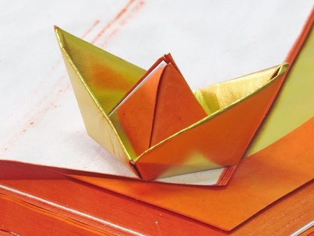 gold: Chinese gold paper use for worship