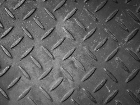 checker plate: Old rusty checker plate floor texture background