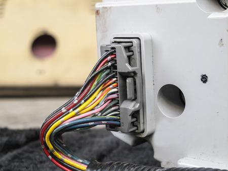 velocímetro: El cableado eléctrico de backview del velocímetro del auto