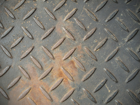 checker: Old rusty checker plate floor texture background