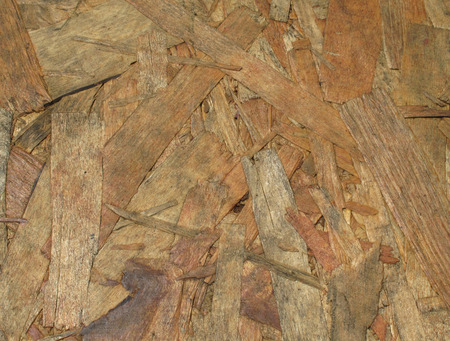 oriented: Oriented strand board (osb board) texture background Stock Photo