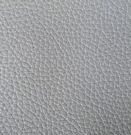 leather skin: Grey artificial leather skin surface texture background Stock Photo