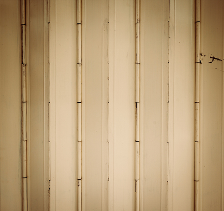 sliding: Old beige sliding metal door sheet background