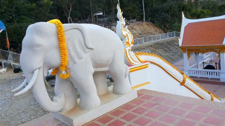 stucco: Elephant stucco Stock Photo