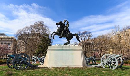 jackson: Andrew Jackson Statue Cannons President