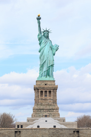 American symbol - Statue of Liberty  New York, USA  写真素材