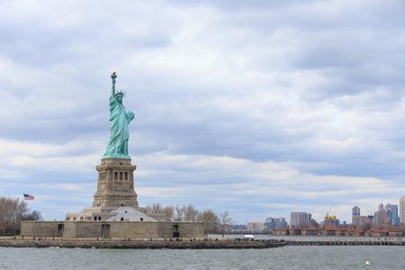 American symbol - Statue of Liberty  New York, USA  Stock Photo