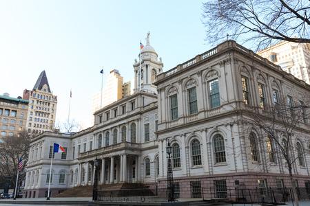 City Hall in New York Stockfoto - 28281986