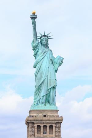 American symbol - Statue of Liberty. New York, USA. Standard-Bild