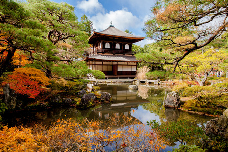 Ginkakuji temple - Kyoto, Japan 新聞圖片