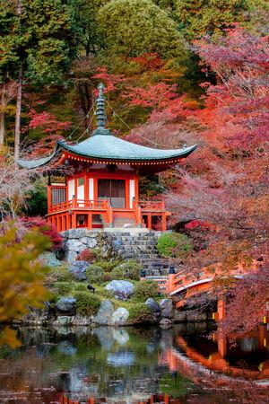 patterns japan: Daigo-ji is a Shingon Buddhist temple in Fushimi-ku, Kyoto, Japan.