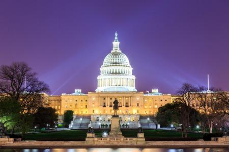 El edificio capitolio de Estados Unidos en Washington DC, EE.UU. Foto de archivo - 33028438