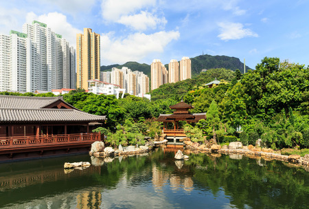 absolute: The oriental pavilion of absolute perfection in Nan Lian Garden, Chi Lin Nunnery, Hong Kong