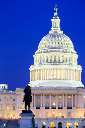senate elections: The United States Capitol building in Washington DC, USA