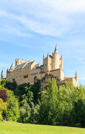 alcazar: The famous Alcazar of Segovia, Castilla y Leon, Spain Editorial