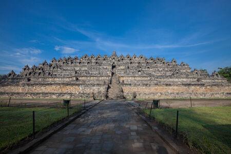 the sacral: Borobudur temple near Yogyakarta on Java island, Indonesia