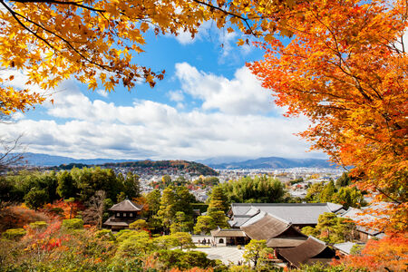 world heritage site: World Heritage Site - the Temple of the Silver Pavilion, Kyoto, Japan