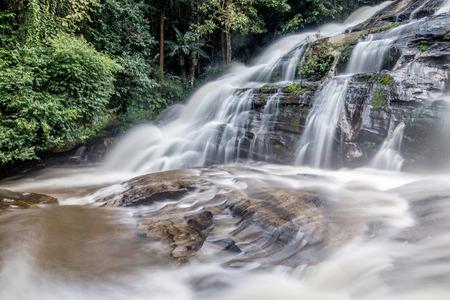 chaingmai: Thailand waterfall in Chaingmai, Thailand