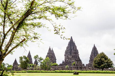 Prambanan temple in Yogyakarta, Java, Indonesia