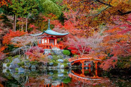 Daigo-ji es un templo budista Shingon en Fushimi-ku, Kioto, Japón. Foto de archivo - 35584574