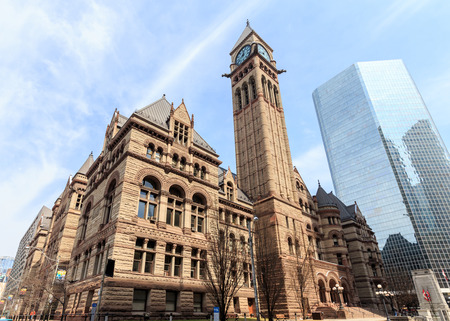 town hall: City Hall in Toronto, Canada. Stock Photo