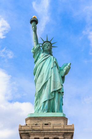 Statue of Liberty in New York, USA.