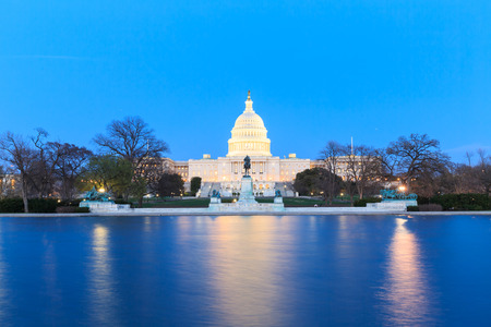 congressional: The United States Capitol building in Washington DC, USA