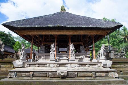 architecture of temple Bali city, Indonesia photo