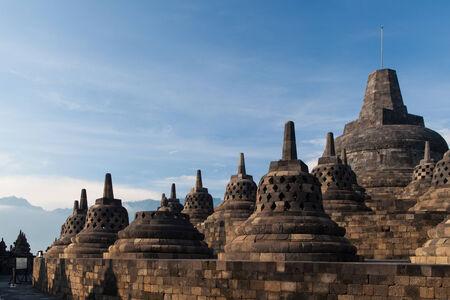 borobudur: Borobudur Temple, Yogyakarta, Java, Indonesia.