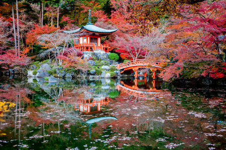 japones bambu: Daigo-ji es un templo budista Shingon en Fushimi-ku, Kioto, Jap�n.