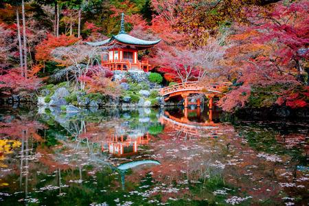 garden gate: Daigo-ji is a Shingon Buddhist temple in Fushimi-ku, Kyoto, Japan.