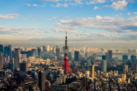 tokyo japan: Tokyo Tower in Tokyo, Japan.