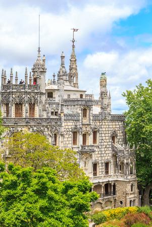 quinta: Regaleira Palace - Quinta Regaleira in Sintra, Portugal