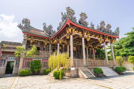 penang: Khoo kongsi temple at penang,  Malaysia