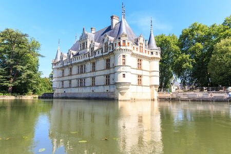 Chateau Of Azay Le Rideau Stock Photos & Pictures. Royalty Free ...