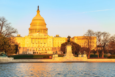 presidency: The United States Capitol building in Washington DC, USA