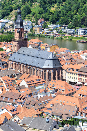 Church of the Holy Spirit in Heidelberg, Germany.