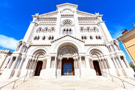 Saint nicholas cathedrale in Monte Carlo, Monaco. Stock Photo